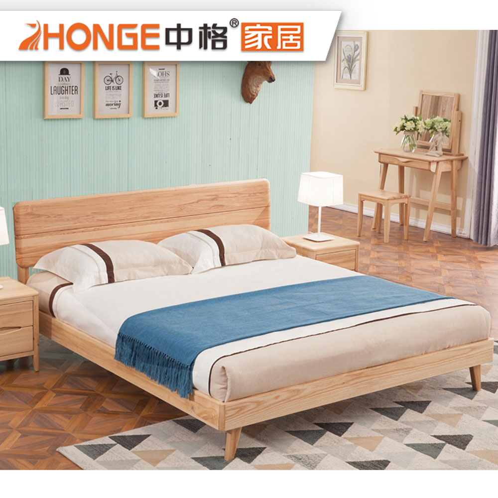 . Home Latest Double Simple Wooden Bed Design Furniture Bedroom Solid Wood  Bed   Buy Latest Double Bed Designs Simple Design Wooden Bed Double Bed