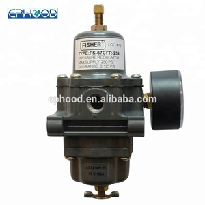Fisher 67CFR gas pressure regulators