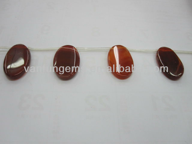 Dyed Red Agate tongue