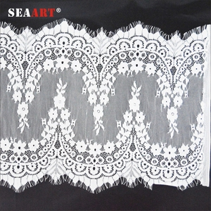 Cotton Trimming Lace Fabric For Cloth