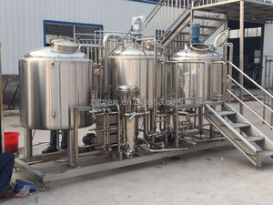 Stainless steel fermenter tank, industrial brewing machine, customized brewery project