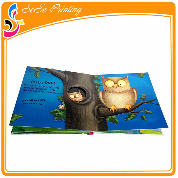 Die Cut Pop Up Children Book Printing,Pop-up Book