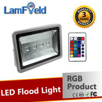 10-200W Various Function LED Outdoor Lighting RGB Flood Light With IR Control
