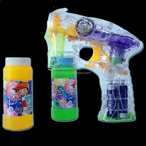 Electric Water Gun Light Up Bubble Music