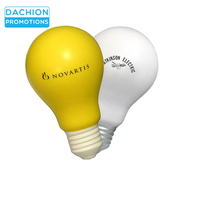 Promotional Light Bulb Stress Balls