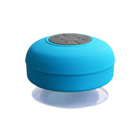 Mini Wireless Bluetooth Speaker Hands Free Waterproof Car Bathroom Office Beach Stereo Subwoofer Music Loudspeaker With Suction
