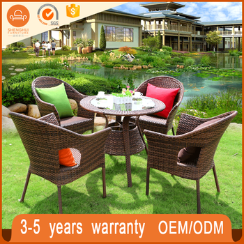 high quality cafe brown rattan modern chairs patio set comfortable manufacturer outdoor restaurant eastern europe cafe & High Quality Cafe Brown Rattan Modern Chairs Patio Set Comfortable ...
