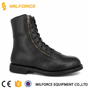 MILFORCE-army military work land safety shoes mens high leather work boots safety shoes