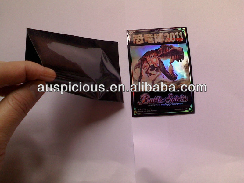 Custom Design Cymk Printing Deck Protector Trading Card Sleeves ...