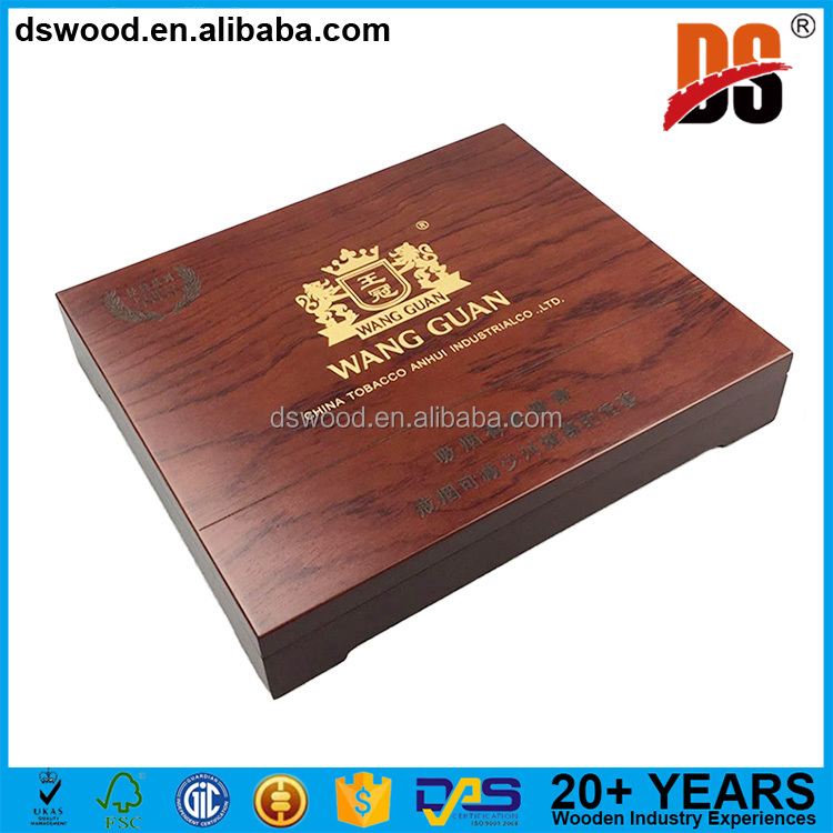 DSWOOD FSC Factory Popular Weed Tobacco Humidor Case