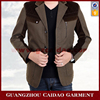 Thick Brown Khaki Fabric Spring Jacket Coat Men