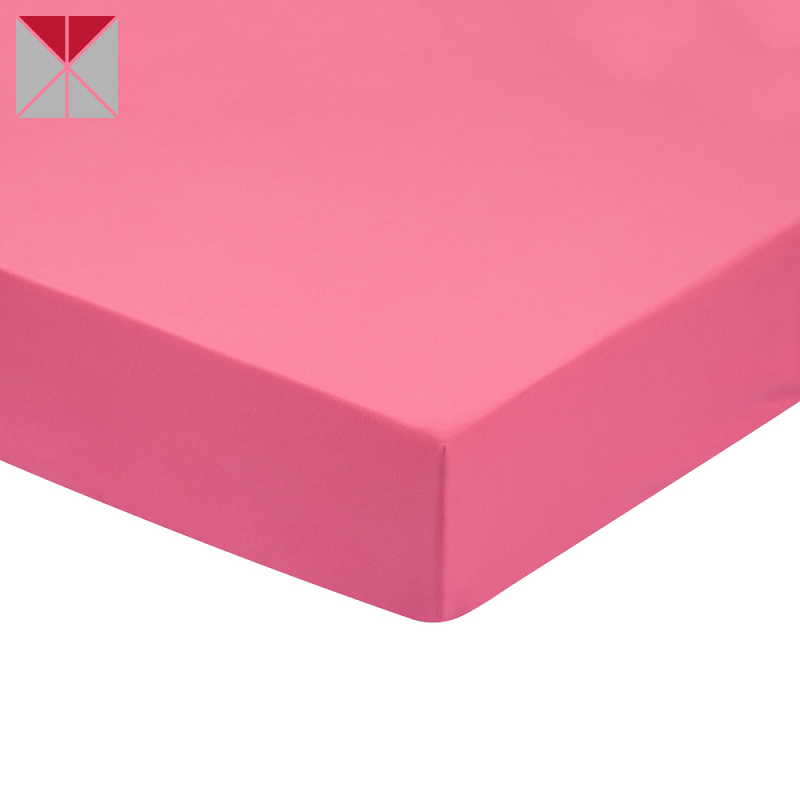 Bed sheet designs 100% Cotton brushed single flat Peachy Color