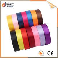 Colorful silk ribbon wedding craft silk ribbon , embroidery ribbon supplies