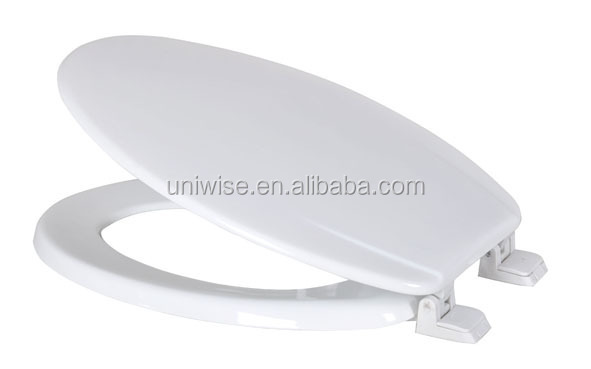 ivory toilet seat soft close. Metallic sliver 17  Moulded Wood WC Toilet Seat MDF toilet seat cover Sliver Wc Mdf