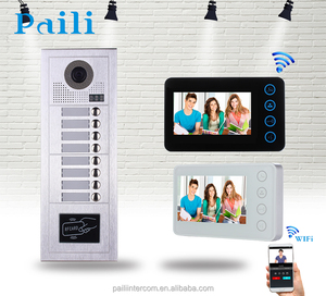 Multi Apartment Room To Room Ip Door Phone Wifi Wireless Video Intercom System Electronic