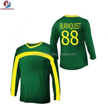 17862898faa Custom Design Long Sleeve Soccer Jersey & Bluk Soccer Uniform - Buy ...