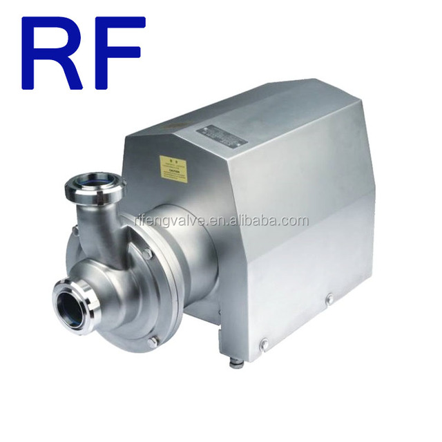 316L Sanitary Satinless Steel Self-Priming Pump with ABB Motor