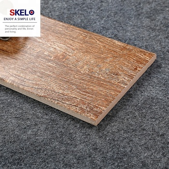 600 150mm Living Room Flooring Wood Plank Look Ceramic Tile