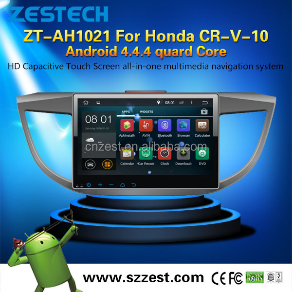 Quad-core android gps navigation for honda cr-v 2012 -2016 with dvd gps car multimedia system