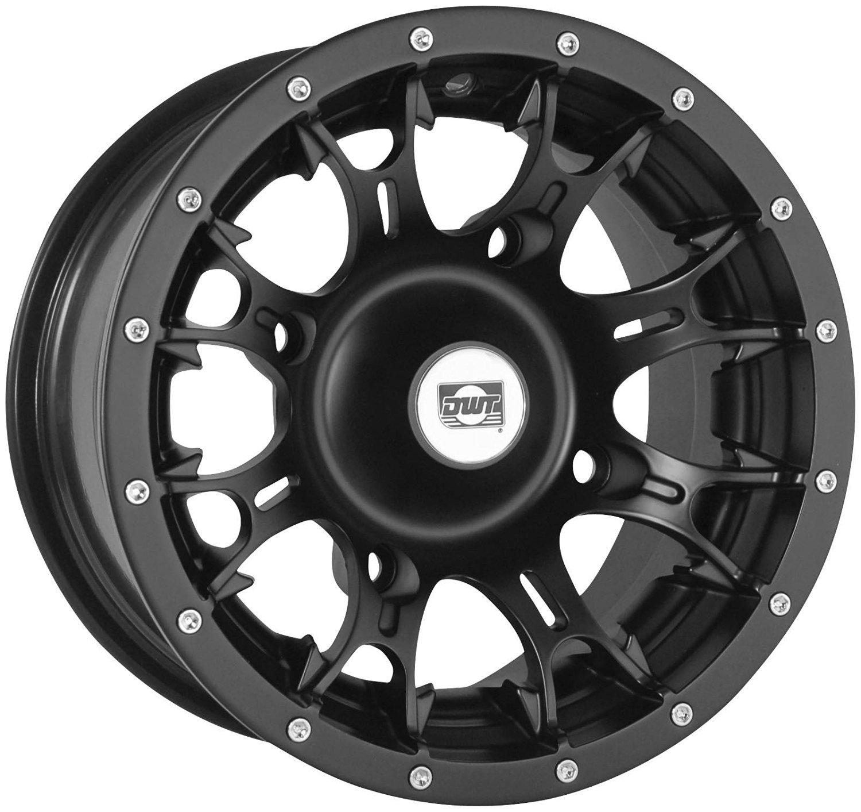 dfa4da110a2 Get Quotations · Douglas Wheel Tire 991-11B Diablo Wheel - 12x7 - 4+3  Offset -