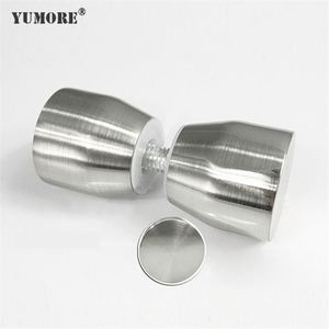Stainless Steel Door Handle Without Lock ,304ss Stainless Steel Glass Turkey Inox Door Handle