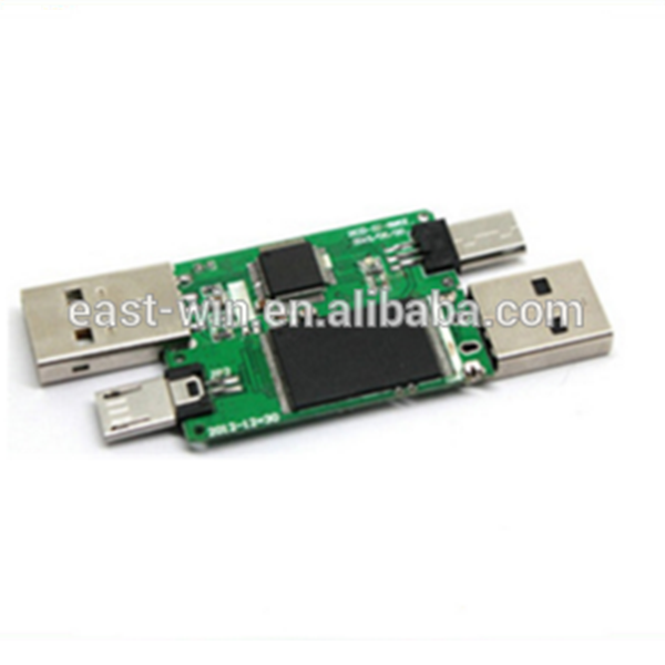 Odm usb flash drive pcb boards montage