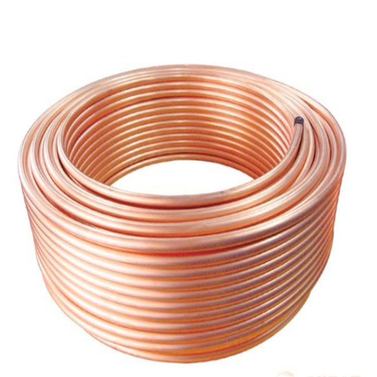 Tianjin custom refrigerator heat exchanger coil beer copper cooling coil pipe