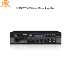 RH-AUDIO Compatto Bluetooth <span class=keywords><strong>Amplificatore</strong></span> Mixer PA System Per L'automobile