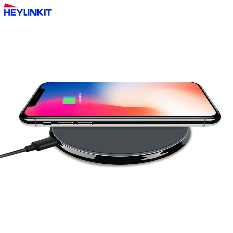 New universal qi wireless charger support 7.5W 10W fast charging