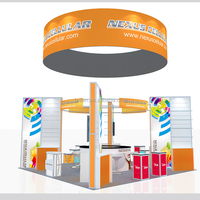 Detian Display offer trade show booth 20x20, collapsible china exhibition booth design