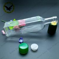 Olive Oil Glass Bottle For Oil Sealing Vinegar Bottle With Vegetable