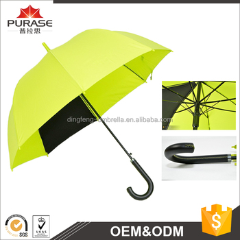 Dingfeng hot sale cheapest 23inch promotional advertising rain straight umbrella manufacturer china