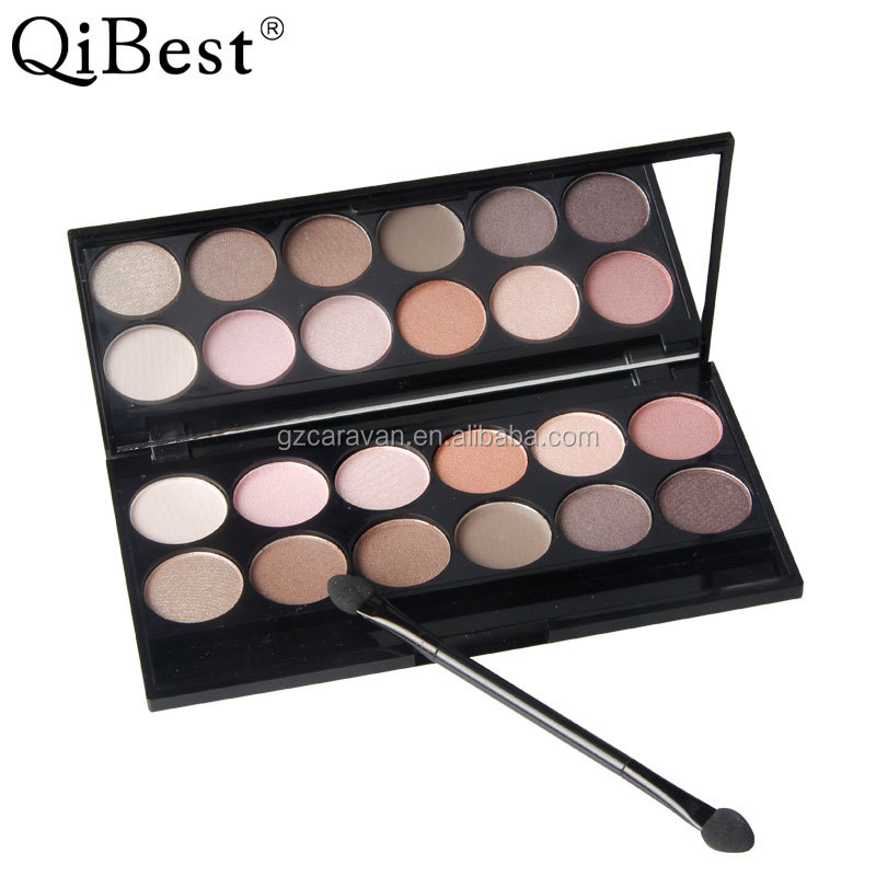 Qi Best 12 colors eyeshadow collection