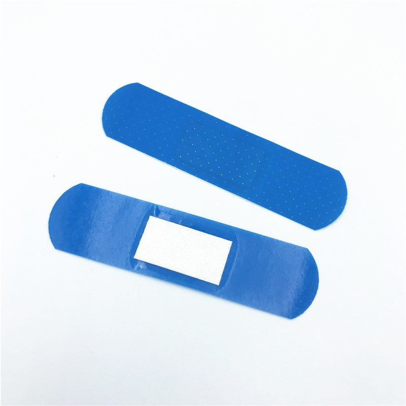 Blue Color Metal Detectable Band Aid For Food Industry