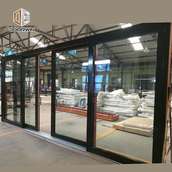 Aluminium frame round windows with tempered glazing extrusion profile double galzed window