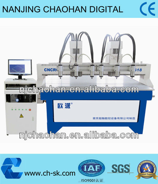 multi-heads woodwork machinery for sofa bed chair making with CE certificate