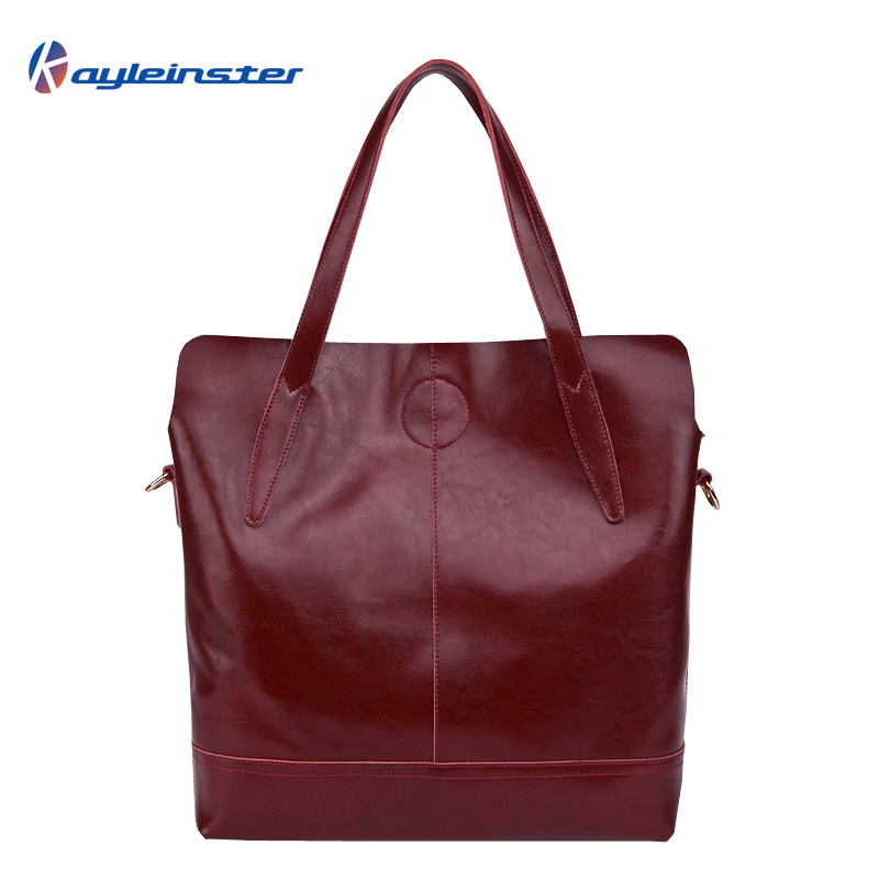 2015 Famous Brands Genuine Leather Women Handbag Fashion Simple Solid Leather Women Messenger Shoulder Bag Casual Composite Bag