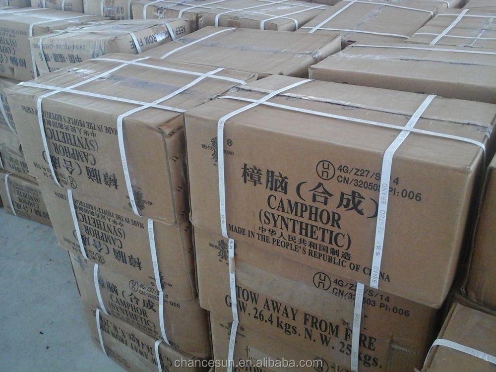 Carton Packed Camphor Powder For Camphor Block