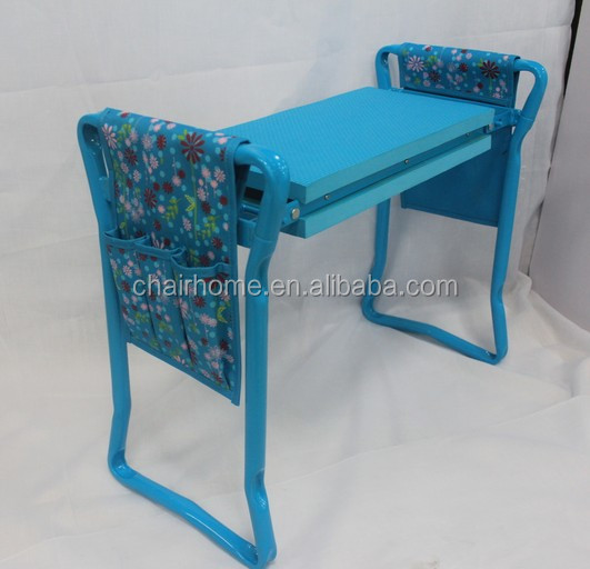 professional Foldable Garden kneeler seat with side bag