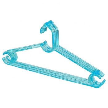 Factory Supply Transparent PS Plastic Hangers