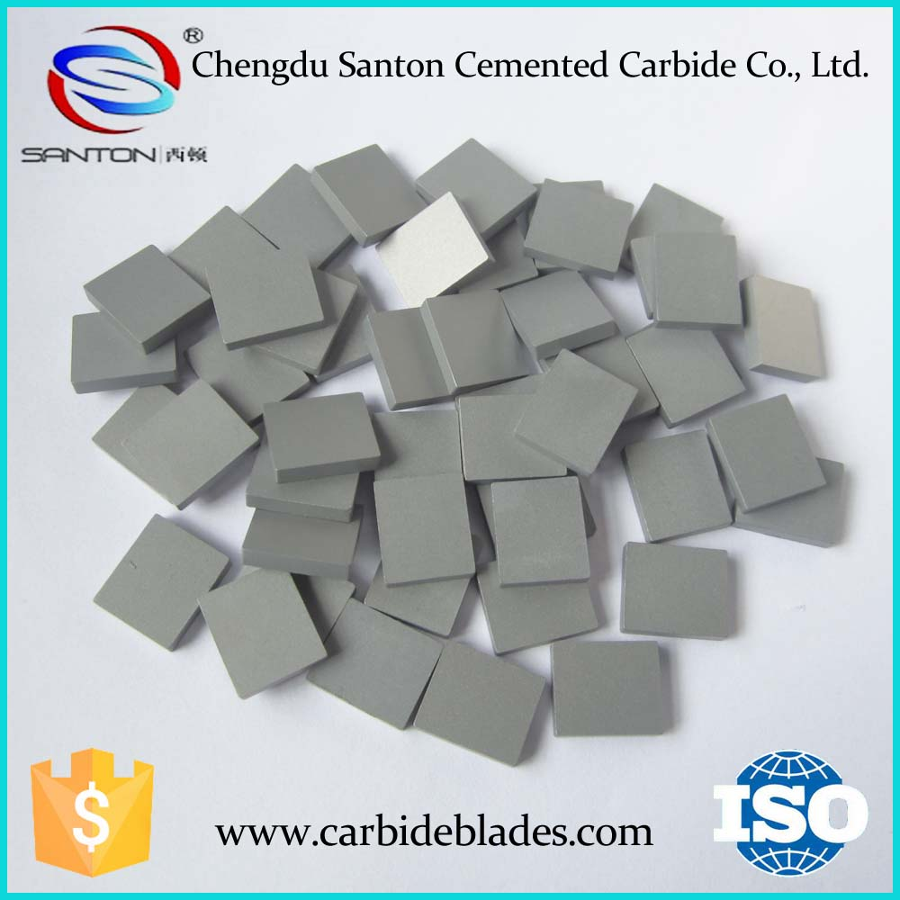 sintered hard metal carbide plates for mixer blades