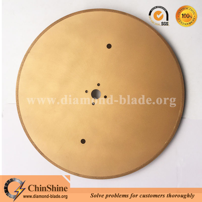 Chinshine new design large electroplated fiberglass insulation cutting diamond saw blade
