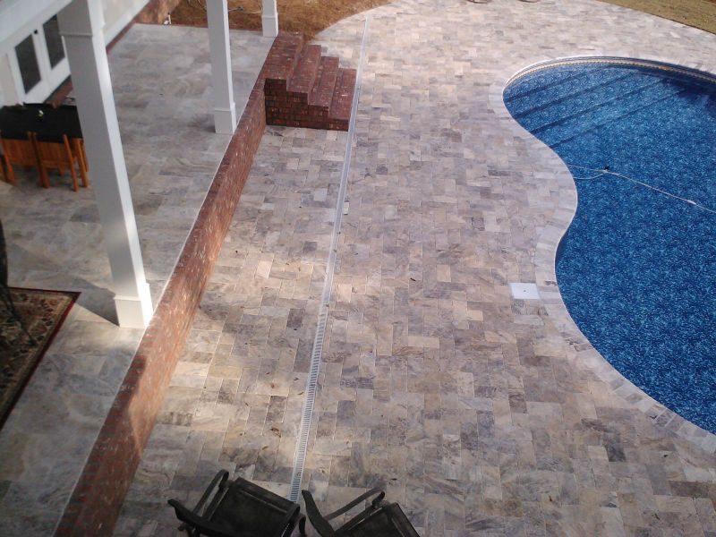 Silver Travertine Tiles and Silver Travertine Pavers
