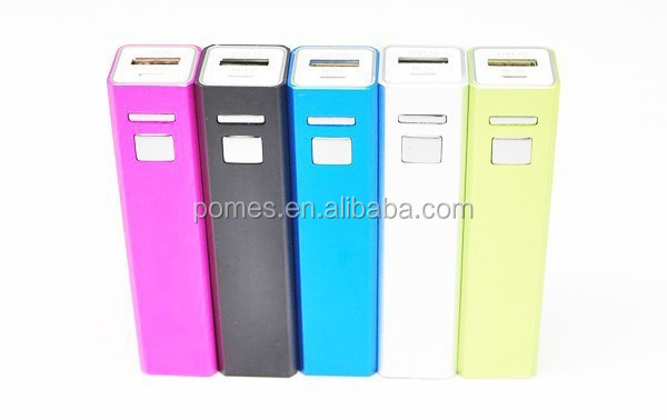 Hot sale metal shell button power bank 2000 2200 2600