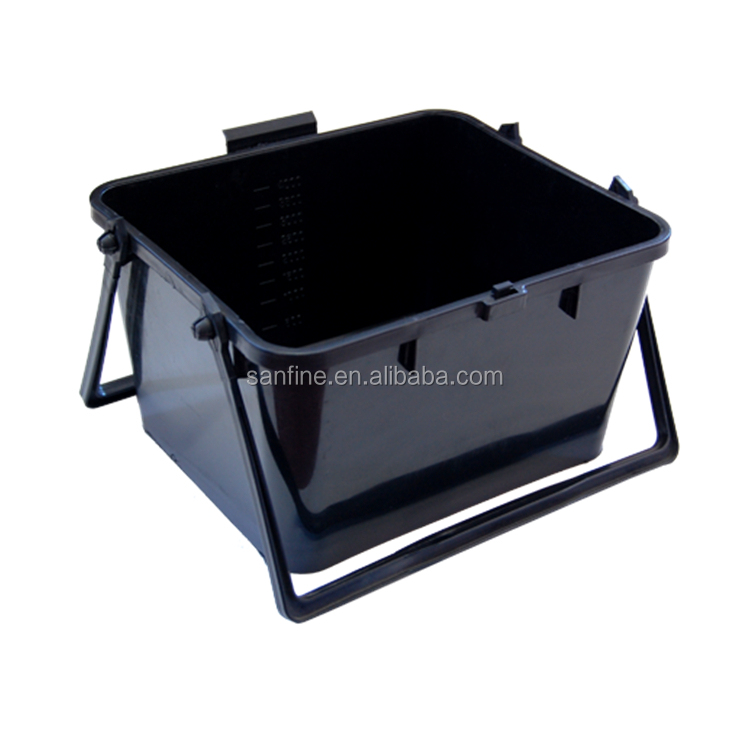 Injected Paint Scuttle Painter Bucket Tool 7 Inch Paint Tray with Handle