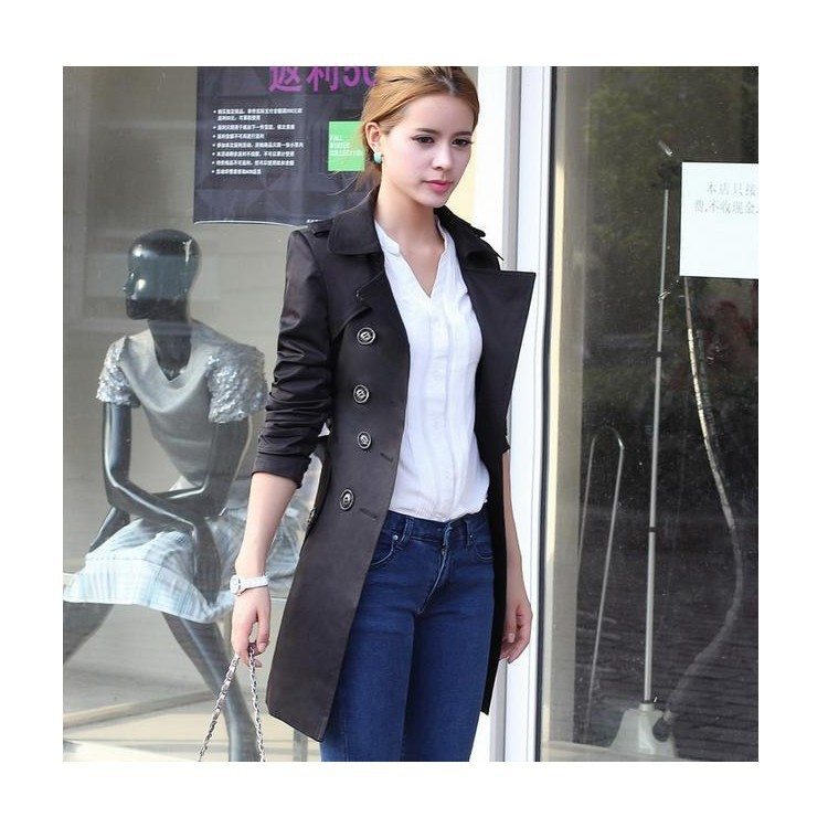 Z91550A Spring and autumn fashion style slim women jacket Windbreaker casual jacket women