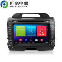 head unit car radio car cd 8inch PD5210 for KIAA SportageR touch screen 1024*600 resolution pure android 4.4 carpad radio