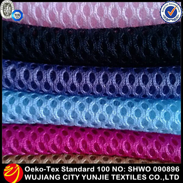 2014 new fashionable heavy duty polyester mesh fabric