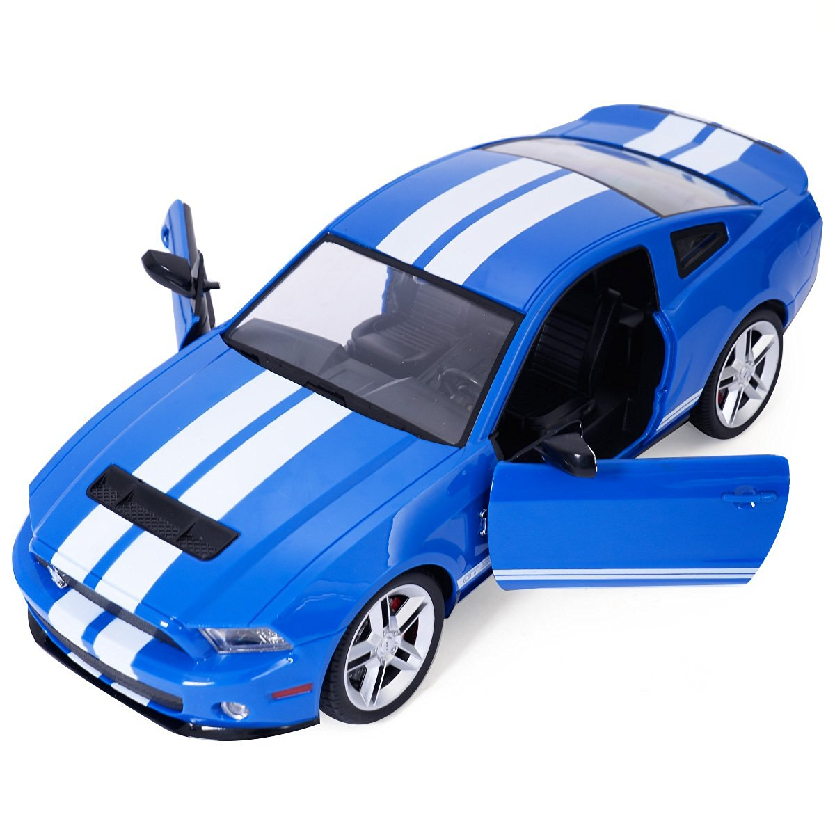 Goplus new 1 14 radio remote control rc model car ford mustang shelby gt500 blue