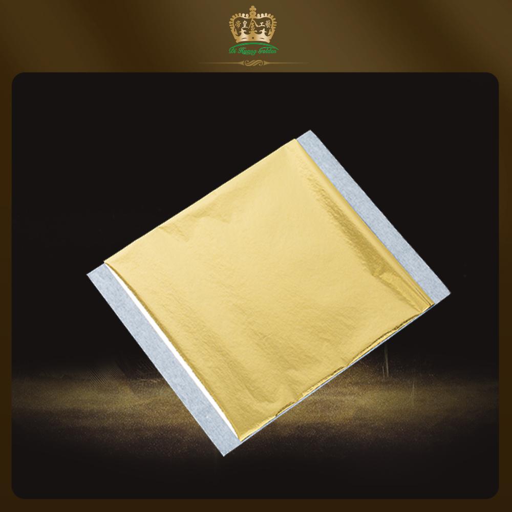 14×14 Cm Imitaci N De Oro Taiw N Hoja De Oro Para Decoraci N De  # Muebles Hoja De Banano